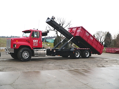 Roll Off Truck Bin Service in Indiana, Ontario