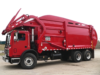 Front Loader Truck Bin Service in Oakland, Ontario